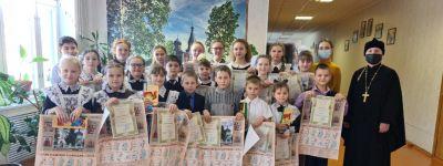 Участников конкурса «Мой Бог» наградили в Новооскольском благочинии