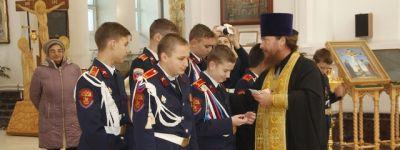 Верстание валуйчан в казаки провели у Свято-Николаевского кафедрального собора