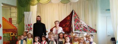 Утренник в честь дня Казанской иконы Божией Матери состоялся в детском саду «Дюймовочка» в Береговом