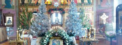 В храмах Красненского благочиния установилось рождественское благолепие