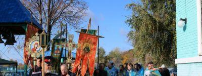 Викарий Одесской епархии и епископ Губкинский совершили чин великого освящения храма Владимирской иконы Божией Матери на хуторе Новоселовка