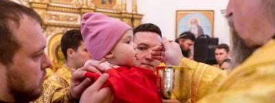 Белгородский митрополит  совершил Божественную литургию в храме святых первоверховных апостолов Петра и Павла Свято-Петропавловского скита