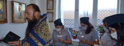 В молитвенной комнате белгородского УФСИН состоялось богослужение в честь праздника Рождества Пресвятой Богородицы