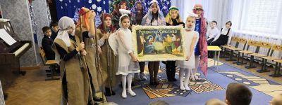 Рождество Христово отметили в детском саду «Солнышко» в Бирюче