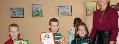 Дети из православного детского сада победили в конкурсе рисунка «Благословленная Святителем земля» в Белгороде
