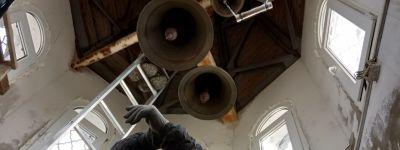 Ремонт колокольни начался в храме в Вязовом