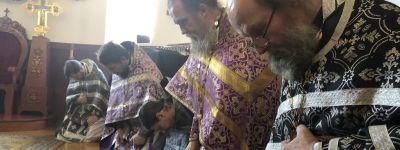 Священники 2-го Губкинского благочиния провели соборное богослужение