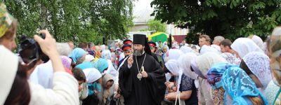 Верующие Красненского благочиния совершили паломническую поездку, чтобы почтить память старца Спиридона