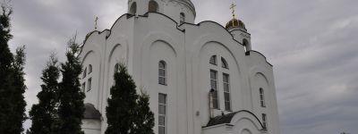 Епископ Валуйский совершил литургию в храме в честь Игумена земли Русской на территории научно-образовательного центра «Бирюч»