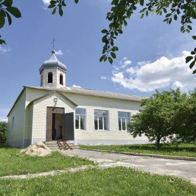 Храм Казанской иконы Божией матери в селе Мокрая Орловка