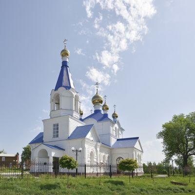 Храм Покрова Пресвятой Богородицы в Волчьей-Александровке