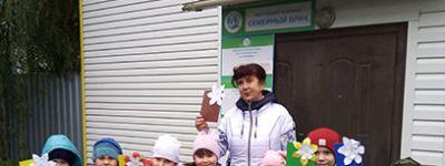 Старооскольские дети сделали подарки бабушкам и дедушкам в День пожилого человека