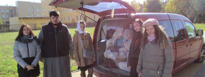Благотворительную акцию «Под Покровом Богородицы» провело в Гостищево Молодежные братство святителя Никодима