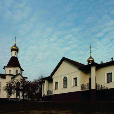 Храм Преподобного Сергия Радонежского в селе Ерик