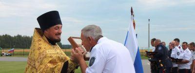 Фестиваль казачьей культуры и спорта в Вознесеновке начался с молитвы