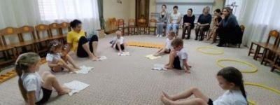 Мастер-класс «Неболейка» организовали в белгородском православном детском саду «Покровский»