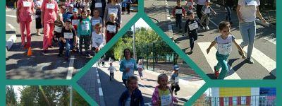 Благотворительный марафон «Добрый город #бежимчтобыпомочь» прошёл в белгородском православном детском саду «Покровский»