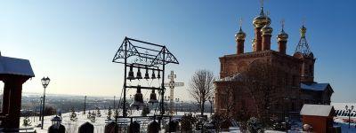 Настоящую Иордань на Крещение подготовили в Богородице-Тихвинском женском монастыре в Борисовке