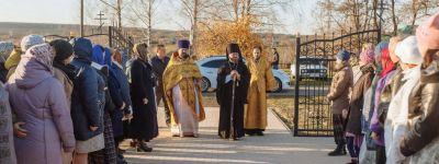 Храм в честь святителя Николая Чудотворца освятили в селе Дроновка
