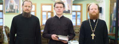 Студент Белгородской семинарии  выступил с докладом «Герменевтический анализ первой главы первой книги Священного Писания» в Московской духовной академии