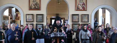 Чтение Великого покаянного канона преподобного Андрея Критского в городе Строитель провёл Епископ Губкинский