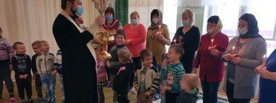 Освящение детского сада в Мухоудеровке совершил настоятель храма Рождества Пресвятой Богородицы