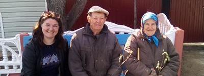 Акцию «Подари радость ближнему» с раздачей веточек вербы провели в Замостье, Добром, Доброивановке, на хуторе Тополи