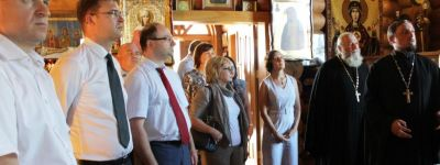 Москвичи посетили храм иконы Божьей Матери «Скоропослушница» в селе Владимировка