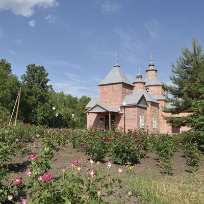 Храм Илии Пророка Божия в селе Верхососна