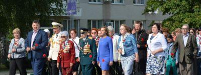Благочинный Прохоровского округа протоиерей Александр Кагарлыкский стал участником традиционного шествия