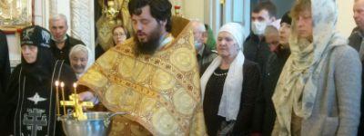 Престольный праздник в домовом Никольском храме встретили в женском монастыре в Борисовке