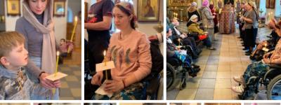 Соборование подопечных белгородского сестричества милосердия прошло в Покровском соборе Марфо-Мариинского монастыря