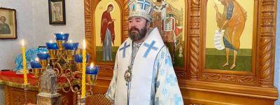 Епископ Губкинский в Рождество Пресвятой Богородицы совершил литургию в храме иконы Божией Матери Курской Коренной «Знамение» в Губкине