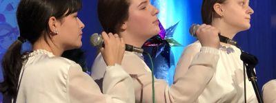 Праздничный Рождественский концерт дали воспитанники Детского православного досугового центра во имя Святителя Иоасафа Белгородского