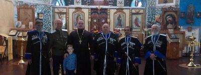 В казачьем храме в Погромце сказали Слово о жизни, трудах и подвиге Русский воинов