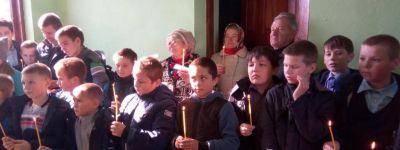 Престольные торжества прошли  в Сергиевской часовне села Васильевка