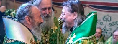 Белгородский митрополит сослужил Святейшему Патриарху Кириллу в Свято-Троицкой Сергиевой лавре