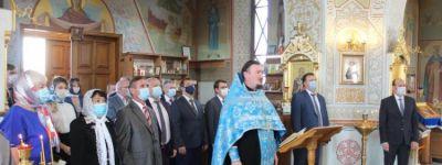 Молебен, посвящённый 144-летию со дня основания Белгородского университета, состоялся в университетском храме Архангела Михаила