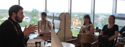 Новая православная беседа за чашкой кофе прошла в Старом Осколе