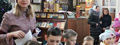 Рождественские колядки спели в воскресной школе храма благоверного князя Александра Невского в городе Алексеевка
