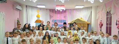 В православном детском саду «Сретенский» отметили Сретенье Господне
