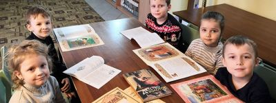 В воскресной группе «Встреча» при храме Сретения Господня в селе Лапыгино организовали праздник православной книги