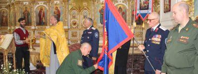 Военнослужащие казачьей роты валуйского гарнизона приняли присягу в Свято-Николаевском храме
