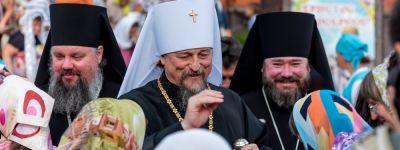 Большой крестный ход прошёл в Губкине накануне праздника Преображения