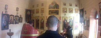 Священник провёл молебен в храме святого великомученика Пантелеимона в валуйской колонии