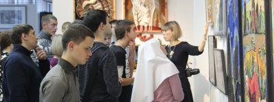 В Арт-пространстве «Родина» молодых белгородцев познакомили с житием апостола Луки