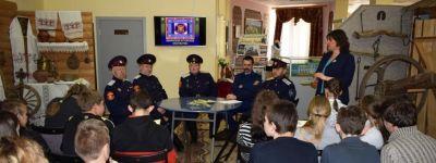 Ивнянские казаки рассказали школьникам о казачьей культуре