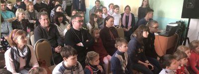 В честь Сретения в Детском православном досуговом центре во имя святителя Иоасафа в Губкине состоялся концерт
