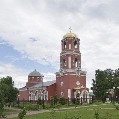 Храм Пророка Божия Илии в селе Красное