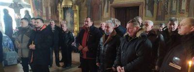 Молитвой в храме встретили памятную дату ракитянские воины-«афганцы»